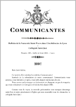 Communicantes n°106